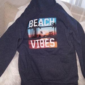 Boys blue hoodie